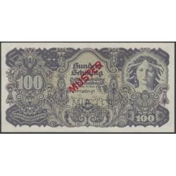 VERKAUFT- 100 Schilling Muster-Banknote