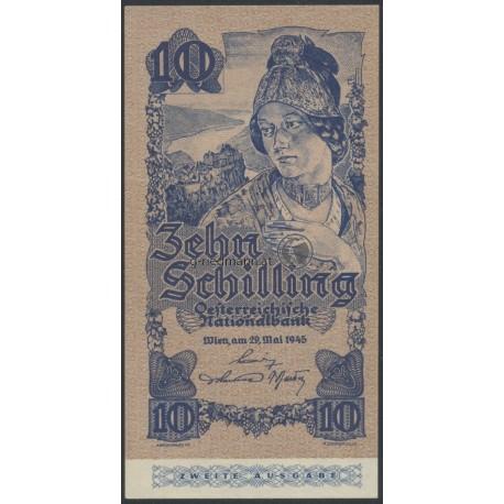 10 Schilling 2. Auflage