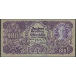 RESERVIERT- 100 Schilling Banknote
