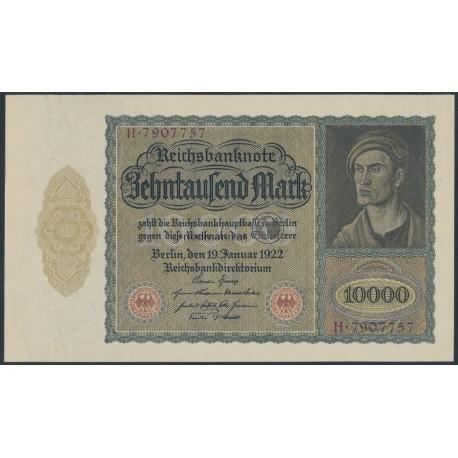 10000 Mark Reichsbanknote