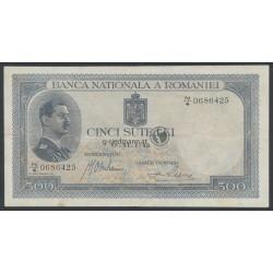 VERKAUFT- 1940, 500 Lei - Rumänien