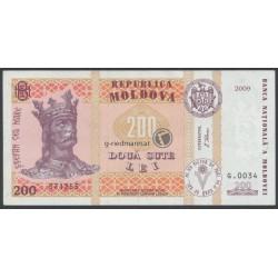 200 Lei, Moldau 2009