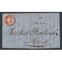 1858, Faltbrief Feldkirch(V) - Braz(V)