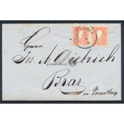 1861 Brief Innsbruck-Braz