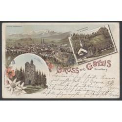 1898 Götzis ( V ) Lithographie