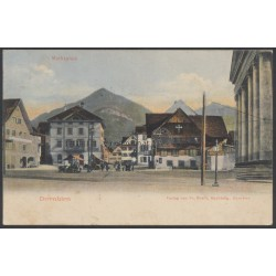 1908, Korrespondenzkarte Dornbirn