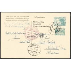 1. Segelfugpost Wien - Simmering