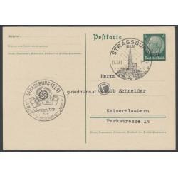 """1941 Postkarte """"Elsaß"""""""