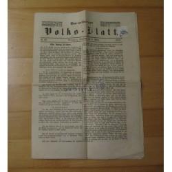 1879, Vorarlberger Volksblatt