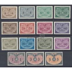 1940, Dienstmarken Hoheitszeichen