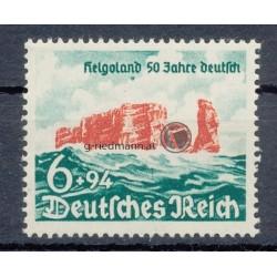 """1940, """"Helgoland seit 50 Jahren deutsch"""" Pf"""