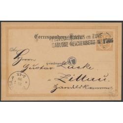 1890, Postcondukteur im Zuge