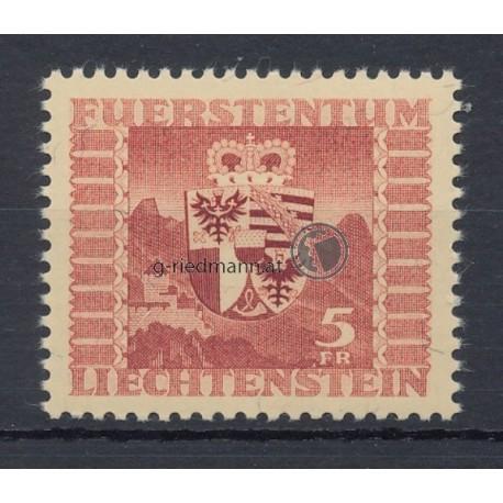 """1947,""""Landeswappen über Burg"""""""