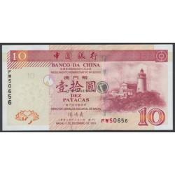 10 Patacas - China,Macau
