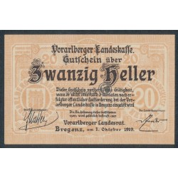 20 Heller - Vorarlberg