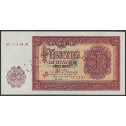 50 Deutsche Mark-Muster DDR