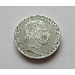 1 FL/Gulden (Ag) 1861