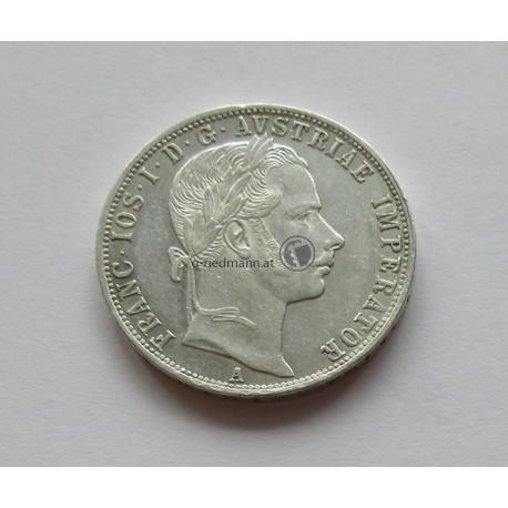 1 FL/Gulden (Ag) 1860