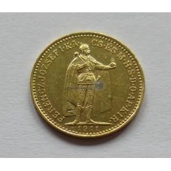 1911, 10 Korona