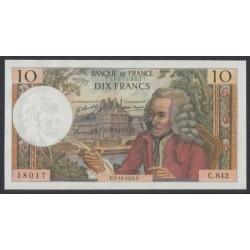 10 Francs - Frankreich 1972