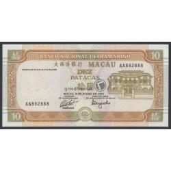 10 Patacas - Macau 1991