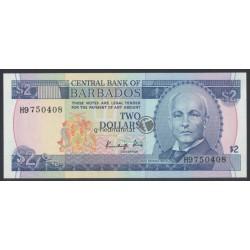 2 Dollars - Barbados 1986