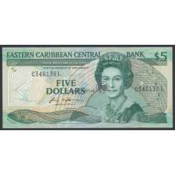 5 Dollars East Caribbean States - St. Lucia