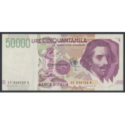 50000 Lire - Italien