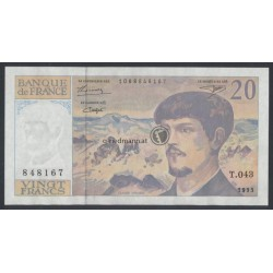 20 Francs - Frankreich