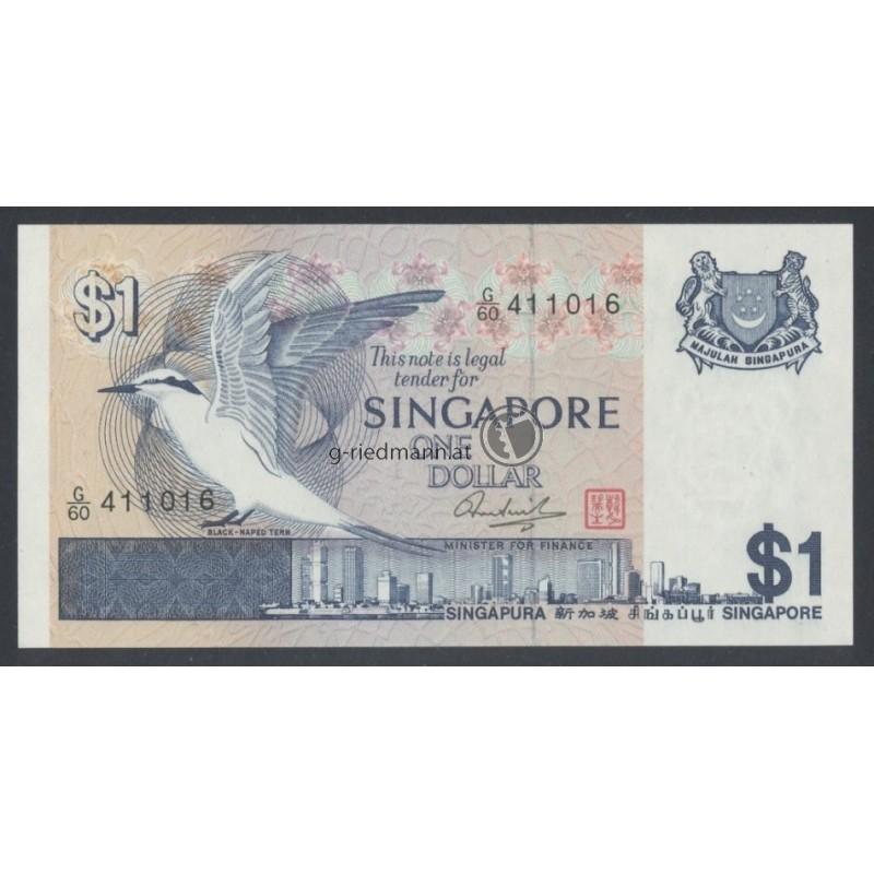 1 Dollar Singapur G Riedmann Philatelie Numismatik