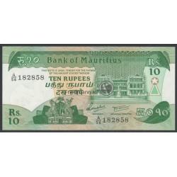 10 Rupees - Mauritius