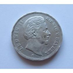 5 Mark , 1875 D