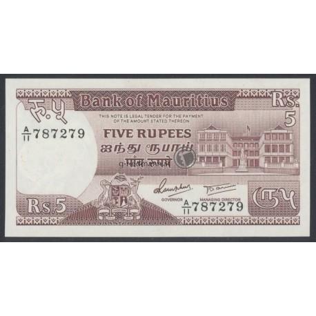 5 Rupees - Mauritius