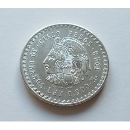 1948, Mexiko 5 Pesos