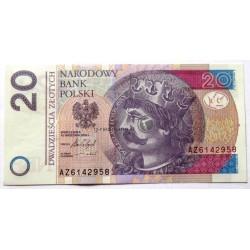 20 Zloty - Polen