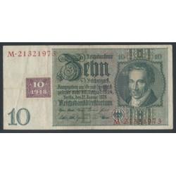 10 DM Kuponschein DDR
