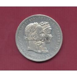 2 Gulden zur Silberhochzeit