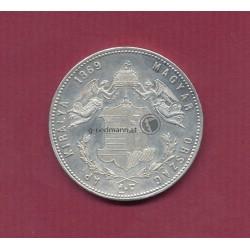 1 Forint (Gulden) 1869