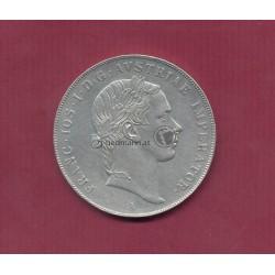 1 Taler (2 Gulden) 1854