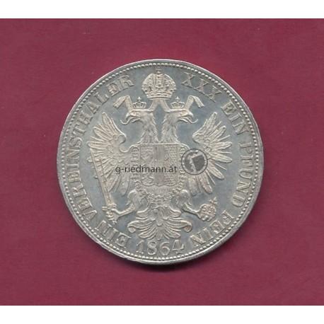 1 Vereinstaler (1 1/2 Gulden) 1864