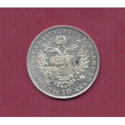 10 Kreuzer 1853 (Franz Joseph I.)