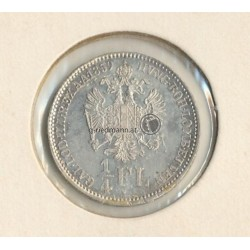 1/4 FL (Gulden) 1859 Kaiser Franz Joseph I.