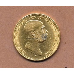 20 Kronen 1908 Goldmünze