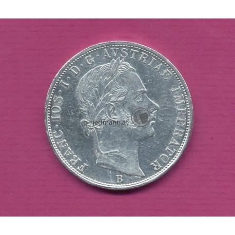 2 Gulden 1859B Kaiser Franz Joseph