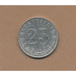 25 Centesimi 1902 Königreich Italien