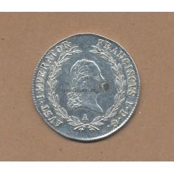 20 Kreuzer 1821 Franz II.