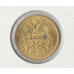 20 Kronen 1916 mit Bindenschild