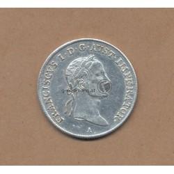 20 Kreuzer 1832 Franz II.