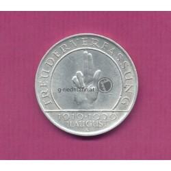 3 Reichsmark Verfassung