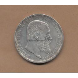 5 Mark Württemberg 1900